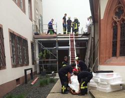 Rettung vom Dach