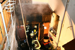 Brand in Weisenau