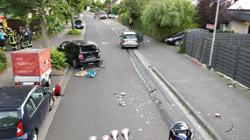 Unfall in Hechtsheim