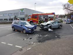 Unfall Kreuzung